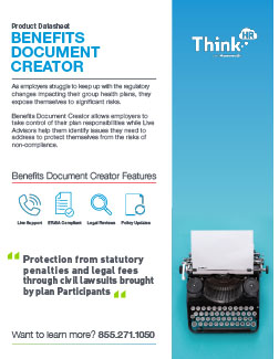 Benefits Document Creator Datasheet